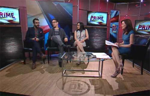 Omar, Jeff, Linda and Shawna talk #YEGCatFest (and more!) on Alberta Primetime.