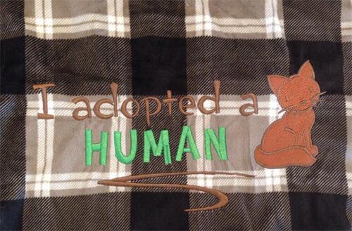 MikaSu Designs - cat blanket. SO SOFT!