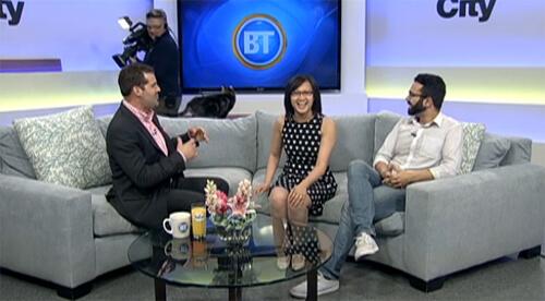 Linda & Omar talk #YEGCatFest with Ryan Jespersen on BT Edmonton!