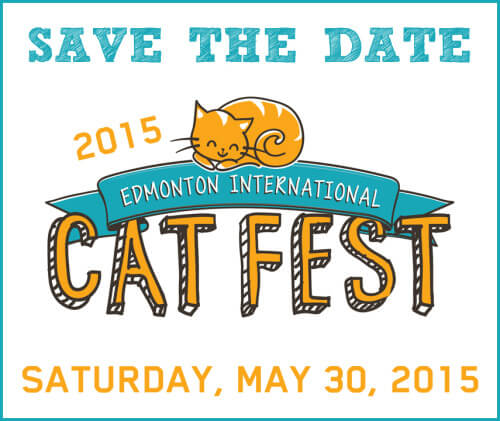 Save the date - Edmonton Cat Fest