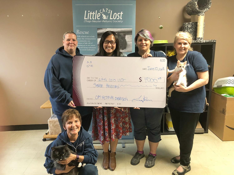 Edmonton International Cat Festival - Little Cats Lost Donation
