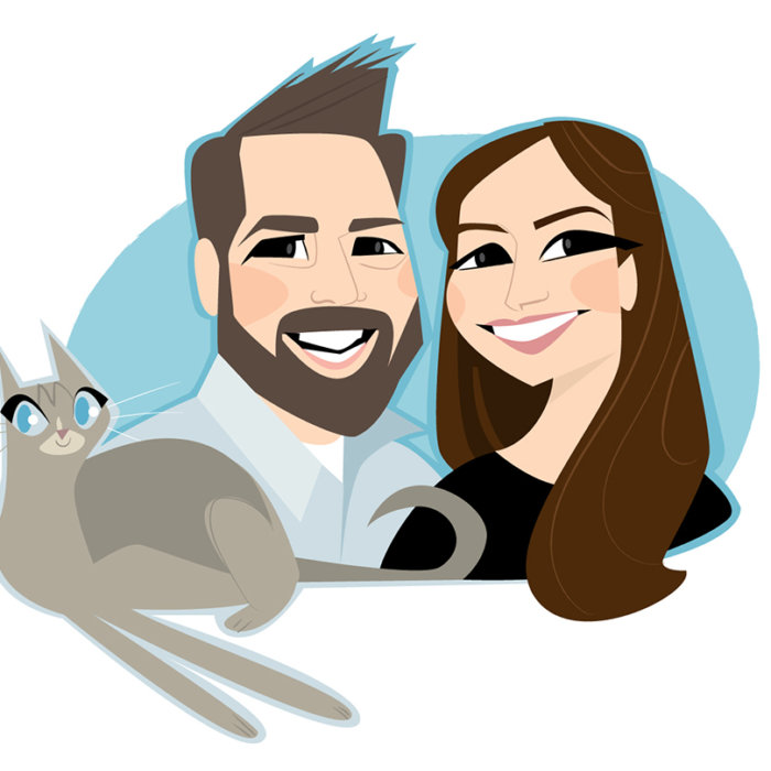Adam Rozenhart Rachel Dunn Moonie Cat Festival