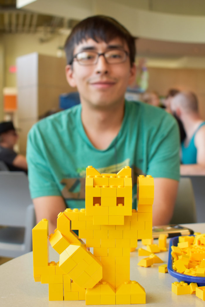 Cat LEGO AIMBOT Edmonton Cat Festival