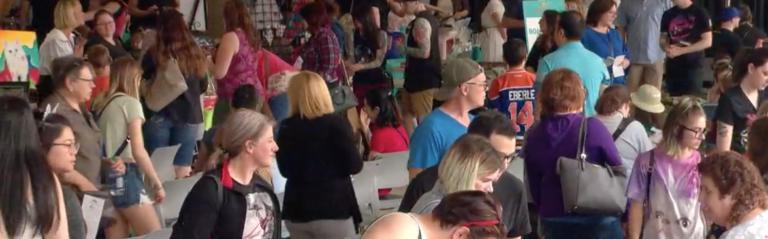 Edmonton Cat Festival Crowds CBC Edmonton