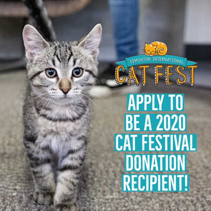 2020 Edmonton Cat Festival Donation Recipients
