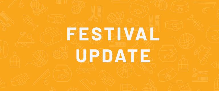 festival update blog banner