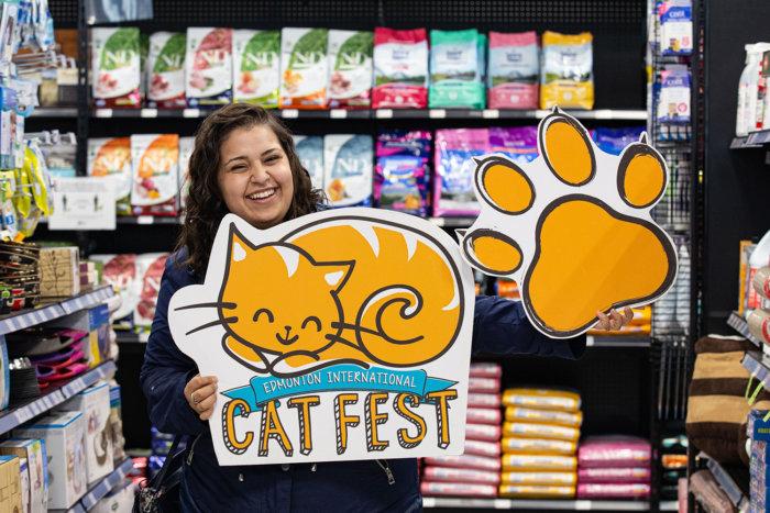 ARTS Senior Animal Rescue Edmonton Cat Festival Donation