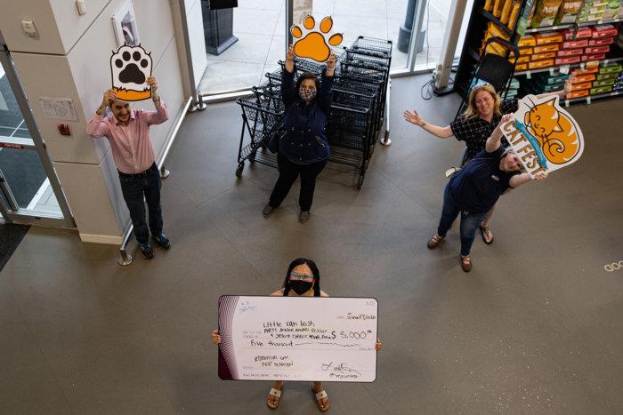 ARTS Senior Animal Rescue Little Cats Lost Second Chance Animal Rescue Edmonton Cat Festival Donation 2