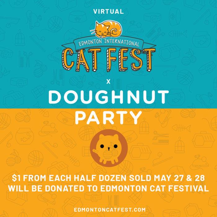 2021 Cat Fest Doughnut Party