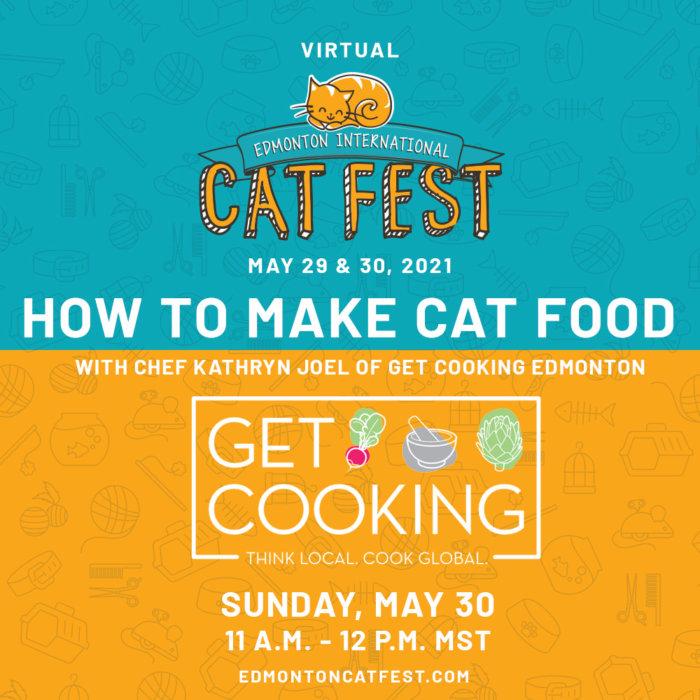 2021 Cat Fest Schedule Cat Food Get Cooking