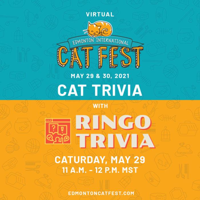 2021 Cat Fest Schedule Cat Trivia Ringo Trivia