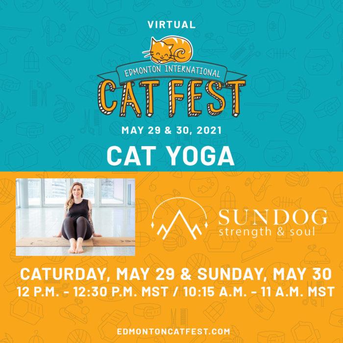 2021 Cat Fest Schedule Cat Yoga Both Days