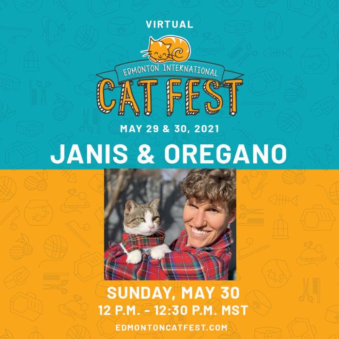 2021 Cat Fest Schedule Janis Oregano