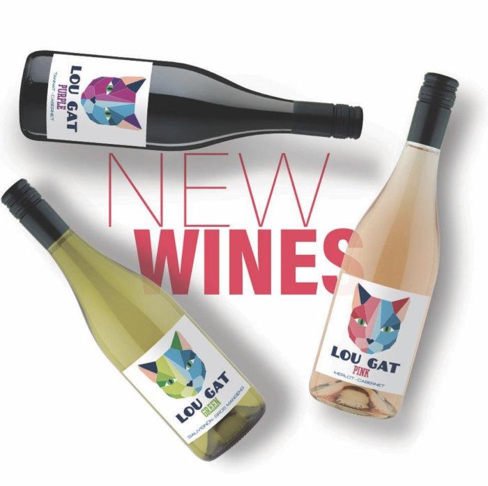 Plaid Cap Imports Lou Gat Wine